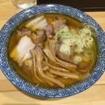 莢 - 塩焼豚そば大盛(950円)