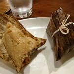 唐朝刀削麺 - セットのちまき