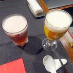 瑞雪 - ヒューガルデンロゼ650円、熟撰プレミアム生650円