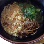 スマル亭 - 料理写真:たぬきそば¥370
