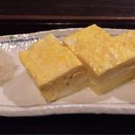 萬陣 - 料理写真:厚焼き玉子