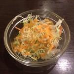 スパイスエクスプレス - セットのサラダ