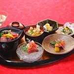 茶寮かげつ - 常陸牛ステーキコース 全6品