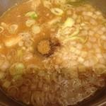 フジヤマゴーゴー - つけ麺出汁♡