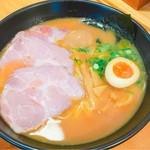 60164158 - 白湯ラーメン(裏メニュー)
