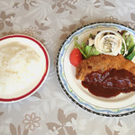 レストラン アガピー - ビーフカツレツ