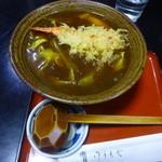 弘昇庵 - 料理写真:カレー南蛮蕎麦ぷらす海老天