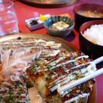 味のシマダ - 関西風お好み焼き