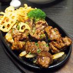 一凛 - 料理写真:牛サイコロステーキ