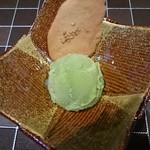 ステーキ なかお - 2016.12 抹茶アイス