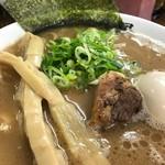 60168685 - 【らぁ麺+煮玉子…800円】♫2016/12