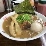 60168686 - 【らぁ麺+煮玉子…800円】♫2016/12