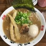 60168688 - 【らぁ麺+煮玉子…800円】♫2016/12