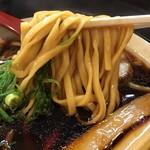 金久右衛門  - 大阪ブラック 太麺