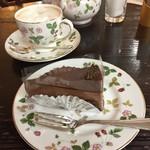 60169492 - チョコレートムースケーキセット
