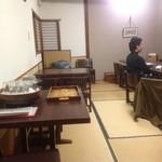 乃池 - 2階我々の座った畳のテーブル席