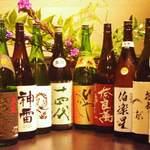 地鳥料理 万徳 別亭 安東 - 入れ替わる季節の日本酒