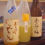 地鳥料理 万徳 別亭 安東 - 女性に人気の極上の果実酒