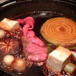 肉匠 一鉄 - 名産飛騨牛すき焼き(梅)(3,800円)