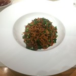 四川飯店 - 本場汁なし担担麺