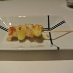 リストランテ カノフィーロ - 北アカリのニョッキとツブのスピエディーノ