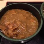 ゆで太郎 - ミニカレー丼