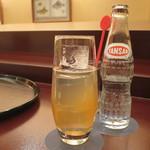 日本料理 木の花 - 梅酒 彩空のソーダ割り