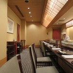 日本料理 木の花 - 寿司カウンター