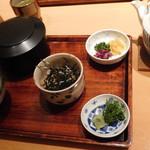竹葉亭 - たい茶漬け