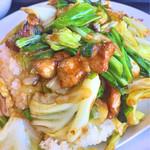 かっぱ食堂 - 稲取のソウルフードの「肉チャーハン」