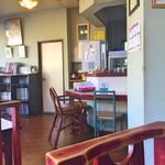 かっぱ食堂 - 店内は喫茶店みたい