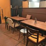 KITCHEN 401 - テーブル席