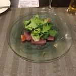 ビストロ・ドゥース - 料理写真:マグロのカルパッチョ