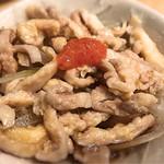 鳥金 - 鶏皮酢