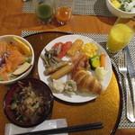 ブラッセリー 「ザ・テラス」 - 朝食ビュッフェ(一例)