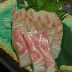 うおっとり - 鯛の刺身