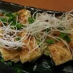60177533 - 越後名物!栃尾油揚げ 葱味噌焼き 2016.12
