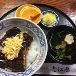 近江屋 - 特上うなぎ丼2100円(税込み2270円^^;)
