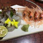 多幸八寿司 - 車海老つくり