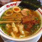 本竈2 - 魚だし醤油・全部入り(1050円)