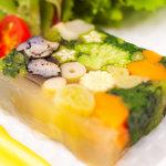 炉バルLO - 有機野菜の彩りテリーヌ