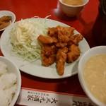 60180957 - 炸香辣鶏塊定食
