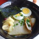 びんつけ屋 - 料理写真:特製にゅうめん 700円。