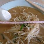 光龍食堂 - 料理写真:味噌ラーメン500円 麺固め 丼の直径21cm