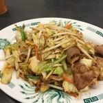 045-260-8545 - 2016.12 〆肉野菜炒め