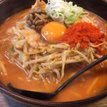 柳家 - キムチ納豆ラーメン辛