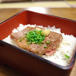 江戸庄 - 村上牛ステーキ丼