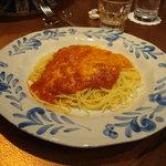 6019152 - チオチャーラ;とろけるチーズとトマトのスパゲティ<2010.12