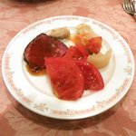 Yoropiandainingubakkasunoheso - ローストビーフとその他料理(バイキング)