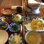 60190643 - ランチA:さばぶしと野菜の天婦羅 1000円